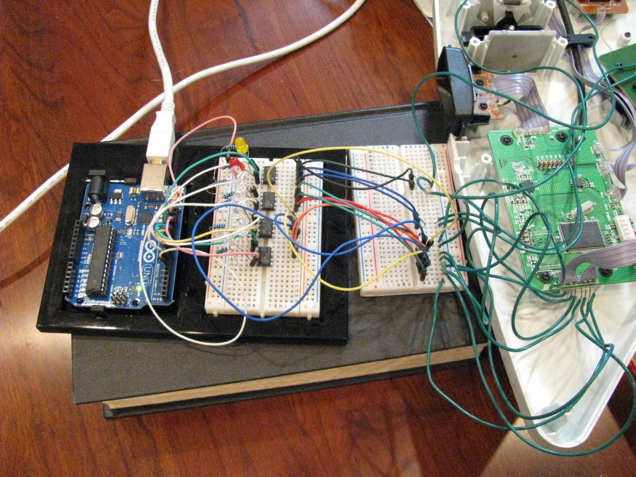Rhythmn player arduino based rhythm automatic game